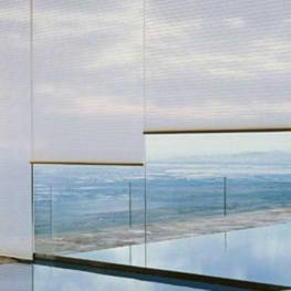 Glass Balcony Curtain Systems